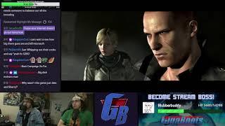 Resident Evil 6 Livestream Playthrough [Part 4]