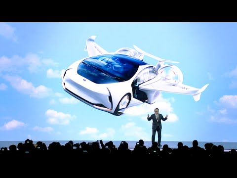 Watch Toyota's full CES 2020 press conference (with flying car concept)