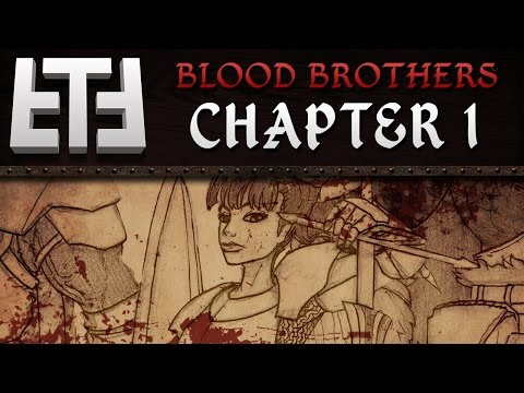 """Blood Brothers: Chapter 1 - """"The War Flower"""" - Medieval Tabletop RPG Campaign Session Gameplay"""