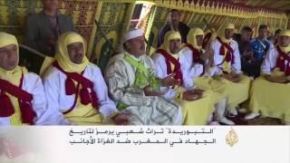 """فن """"التبوريدة"""" المغربي ضمن فعاليات المعرض الدولي للفروسية"""