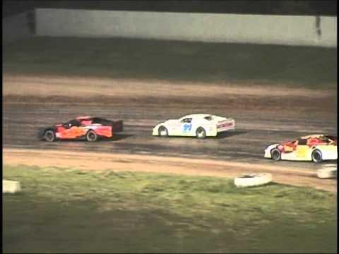 Oshkosh Speedzone Raceway - 6-8-2012 Grand National feature.