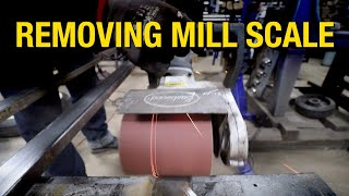 How to Remove Mill Scale From Metal - Contour SCT Drum Showdown - Eastwood
