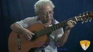Guitar solo - HOA SỨ NHÀ NÀNG (Hoàng Phương) - Lê Vinh  Quang