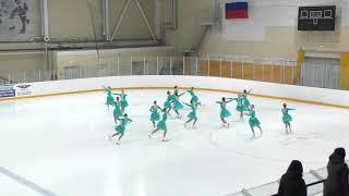 Финал Кубка России по синхронному катанию 4 5 марта 2020 г Команда Идель короткая программа