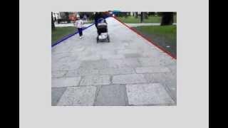 Road edge detection  - Pisek