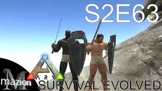 ARK: Survival Evolved - Sword & Shield w/ Starsnipe and more! S2E63 Gameplay