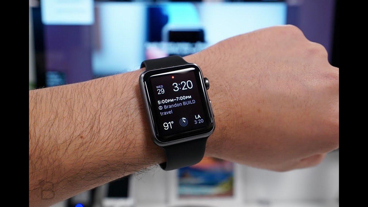 Распаковка и первая настройка Apple Watch Sport