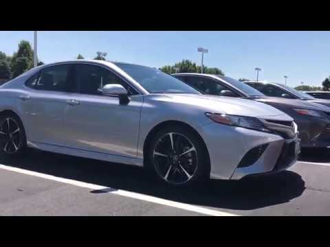 2018 toyota xse v6. unique xse 2018 toyota camry xse v6 start up and walk around compare to other  models inside toyota xse v6