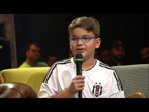 Kendi Küçük, Gönlü Büyük Beşiktaş'lı Muhammet Beyaz Show'daydı!