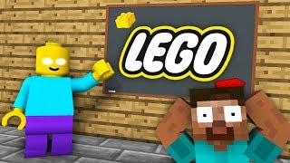 Monster School : LEGO CITY GAME CHALLENGE - Minecraft Animation