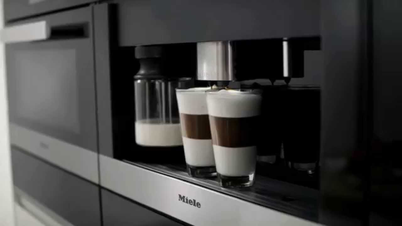 miele pureline coffee machine one touch for two youtube. Black Bedroom Furniture Sets. Home Design Ideas