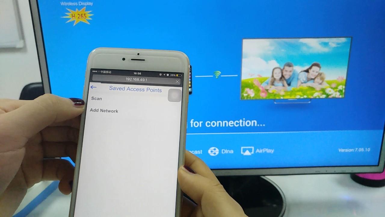 How to setup the wifi ,Wecast tv dongle