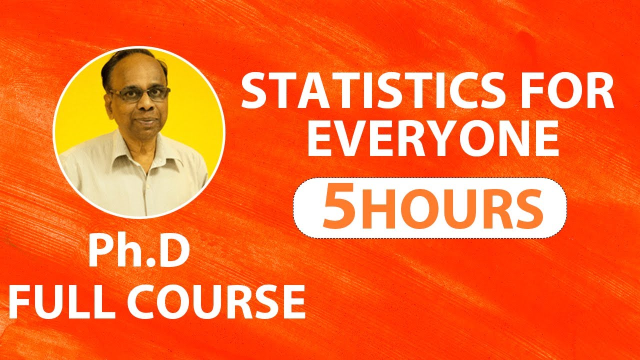 Statistics for Machine Learning | Statistics for Data Science | Full Course for Beginners