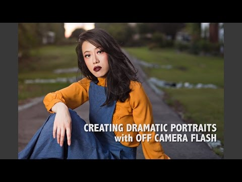 Creating Dramatic Portraits with Off Camera Flash with Yesenia Bocanegra