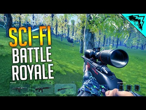 SCIFI BATTLE ROYALE - Islands of Nyne Gameplay First Win
