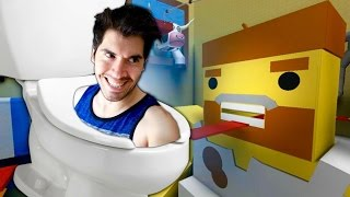 ESCAPING FROM THE BATHROOM ? Roblox