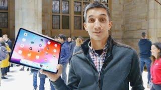 Смотрим новый iPad Pro 2018