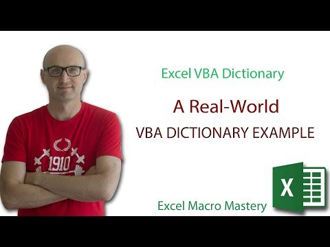 A Real-World VBA Dictionary Example (3/4)