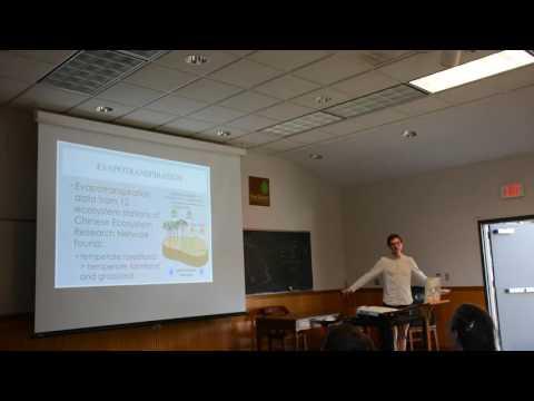 Hubbard Brook ISE REU Chase Ammons Final Presentation 2016
