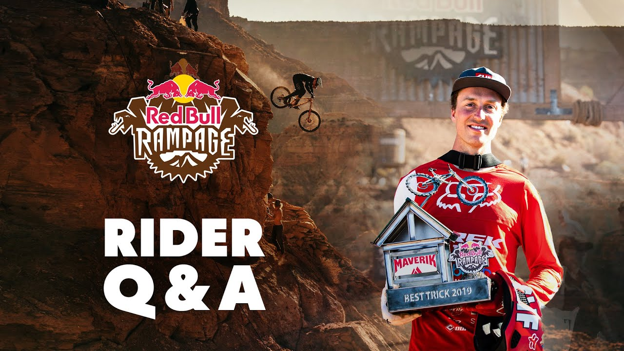 Rapid Fire Questions with the Red Bull Rampage Winners