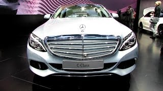 2015 Mercedes-banz C-class C220 - Exterior And Interior Walkaround - Debut At 20