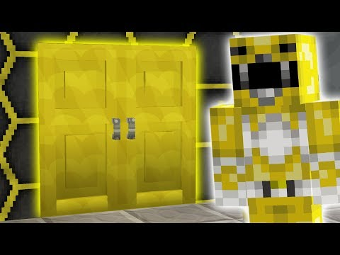 Yellow Ranger SECRET ROOM?! Power Rangers Minecraft Hide N Seek!