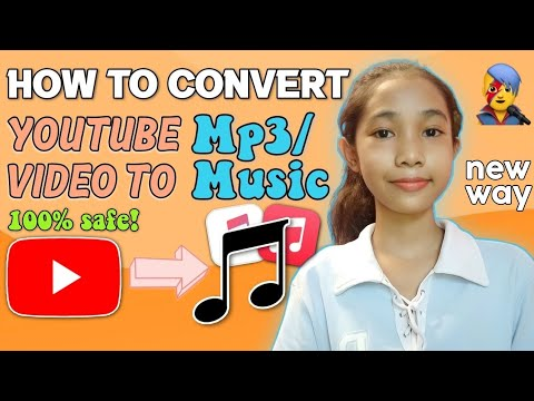HOW TO CONVERT YOUTUBE VIDEO TO MP3/MUSIC! new way WITH SUBTITLE  LOVELY UMALI