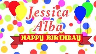 Happy Birthday Jessica Alba Song
