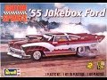 How to Build the ?55 Jukebox Ford 1:25 Scale Revell Model Kit #85-4036 Review