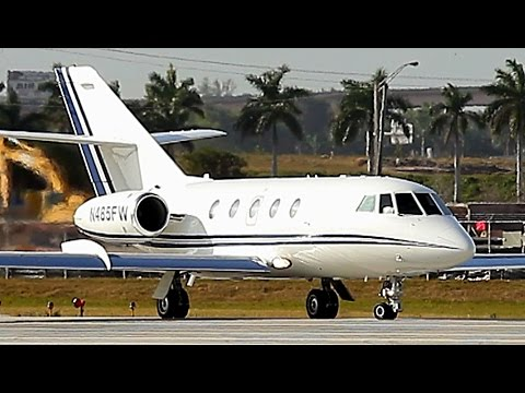 {TrueSound}™ Classic Dassault Falcon 20 Takeoff from Ft. Lauderdale 3/11/16