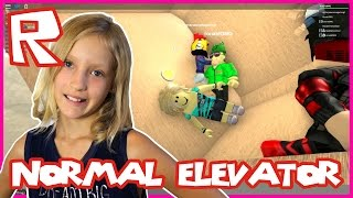 the normal elevator weird stuff roblox