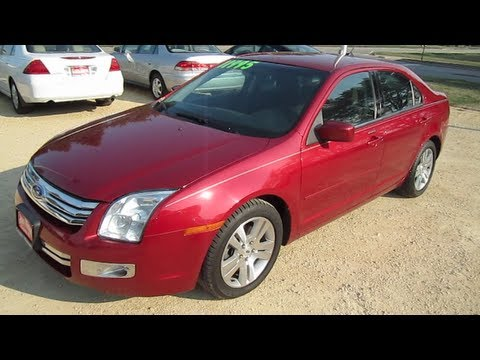 2008 Ford Fusion Sel V6 Review Start Up Engine