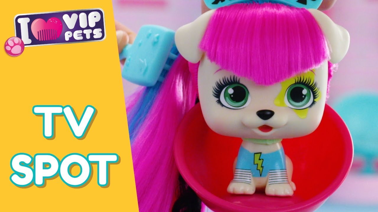 VIP PETS 🌈 SURPRISE DOLL WITH LONGEST HAIR REVEAL 💇🏼 12 to COLLECT 💕 TARGET TV SPOT 15s
