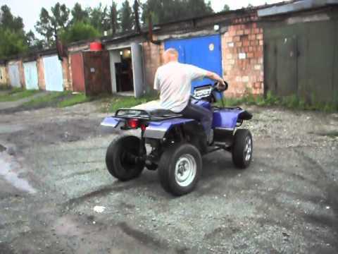 Самодельный квадроцикл с двигателем от урала