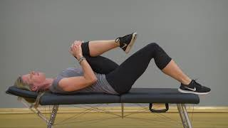 Knee to chest stretching