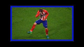 Breaking news | griezmann scores twice, leads atletico madrid to europa league title
