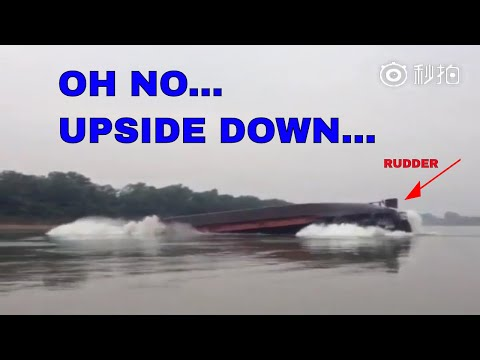 Overload Bulk Carrier Ship Load Sands Goes Wrong - Too Small Draught Brings The Ships Drowning