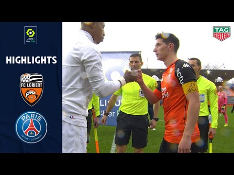 Lorient PSG Goals And Highlights