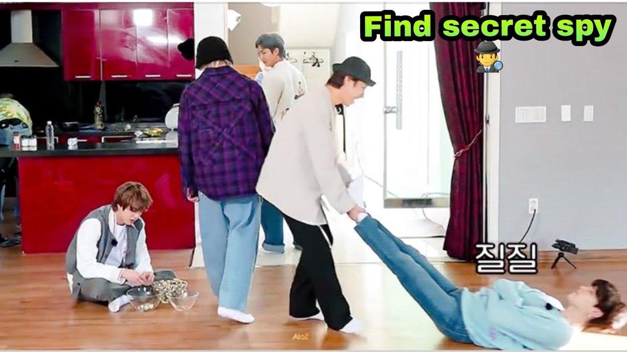 BTS SECRET SPY 🕵️♂️ // HINDI DUBBING // PART-1 // bts run ep 140