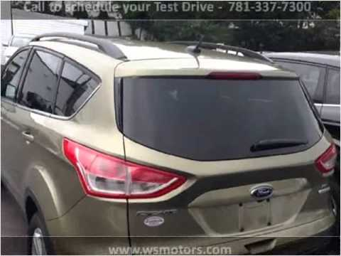 2014 Ford Escape Used Cars Weymouth Ma Youtube