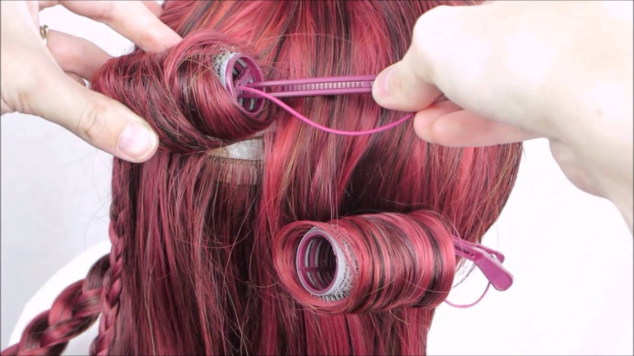 Tutorial Curling A Heat Resistant Wig With Boiling Water Youtube