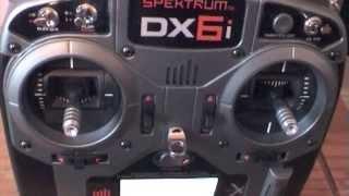 Spektrum DX6i Transmitter / Stick Calibration VERY IMPORTANT !!!