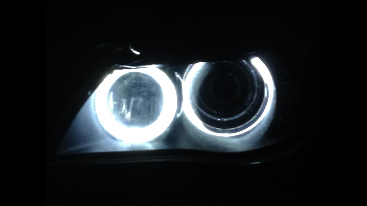 Angel Eyes H8 20w Led Marker Bmw E60 E90 E91 E92 X5 E70 X6