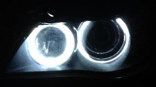 Angel Eyes H8 20W Led Marker BMW E60 E90 E91 E92 X5 E70 X6 E71 www.accesoriiautoshop.com