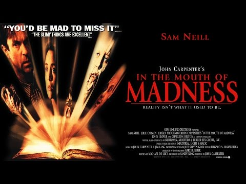 In the Mouth of Madness 1994 Sam Neill  Jürgen Prochnow  Julie Carmen  DVD  Commentary track