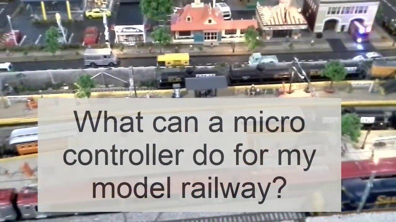 Model Railway Electronic Circuit
