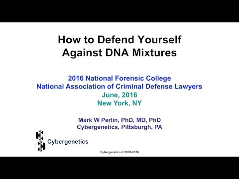 How to defend yourself against DNA mixtures