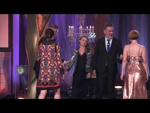'Shaw: My Astonishing Self' Winner Best Single Documentary category at IFTA Gala TV Awards 2018