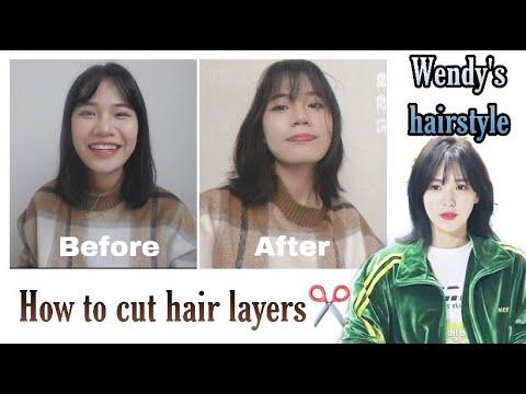 TỰ CẮT TÓC LAYER KIỂU HÀN 100%THÀNH CÔNGGG HOW TO CUT HAIR LAYERS  DU HỌC SINH HÀN QUỐC ♡ Rin Go   Tổng hợp những kiểu tóc nữ đẹp mới nhất