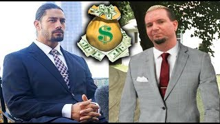 10 WWE Wrestlers Richer Than You Think - Roman Reigns, James Ellsworth & more